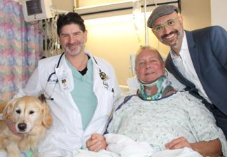 Faithful dog helped saved owner