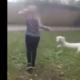 teenager swings dog by leash in disturbing video