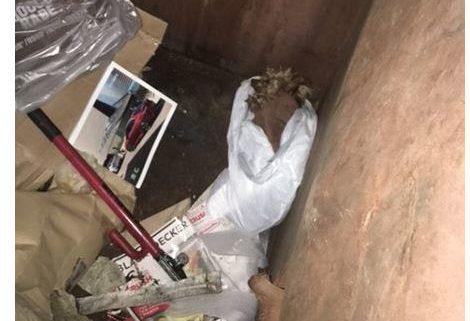 Tragic end for dog found in garbage bag
