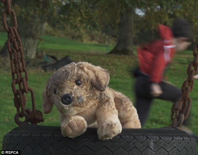 Rspca S Abandoned Toy Puppy Christmas Video Goes Viral In