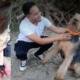 Good Samaritan saved woman and dog from drowning