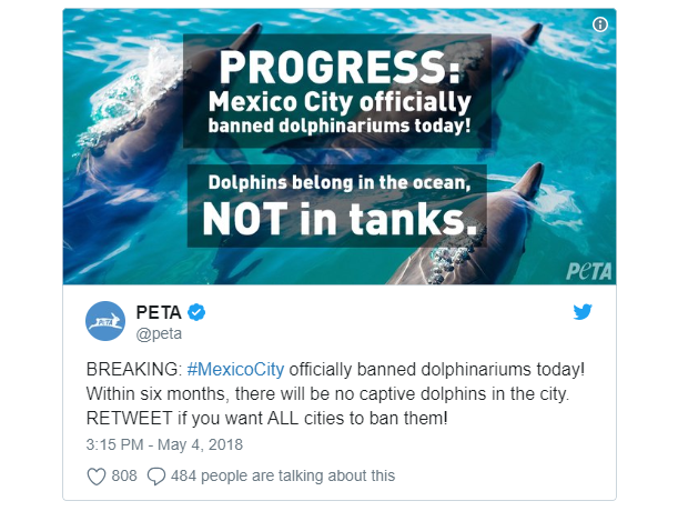 Dolphinariums banned