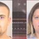Two people charged after dead dog found in yard