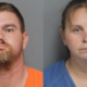 Arrested - dogs found on chains and in boxes