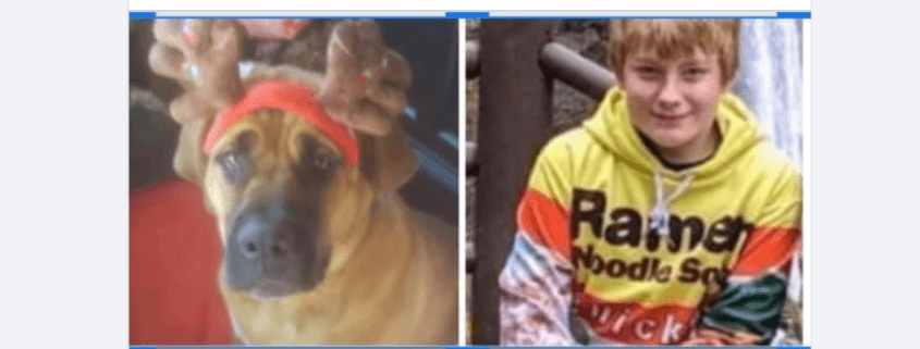 Boy and dog died in Oregon Wildfire