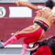 bullfighter injured after being gored in the groin