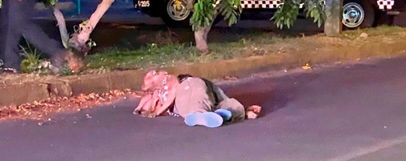 Dog by body of slain owner