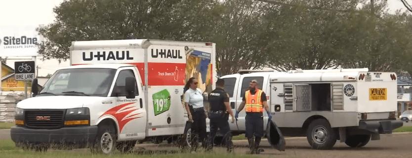 Dozens of dogs found dead in U-haul truck