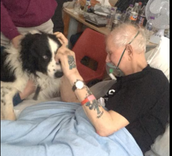 dying man granted final wish