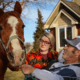 Man reunited with horse