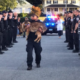 Ailing K9 honored in final walk
