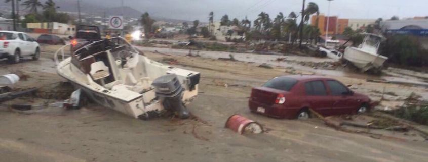Tropical storm Lidia hits Los Cabos area