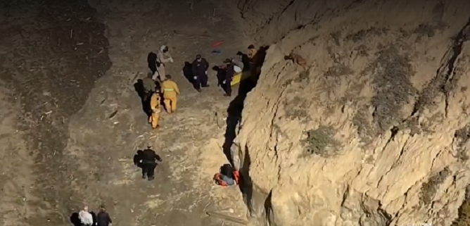 Man fell from cliff trying to rescue dog
