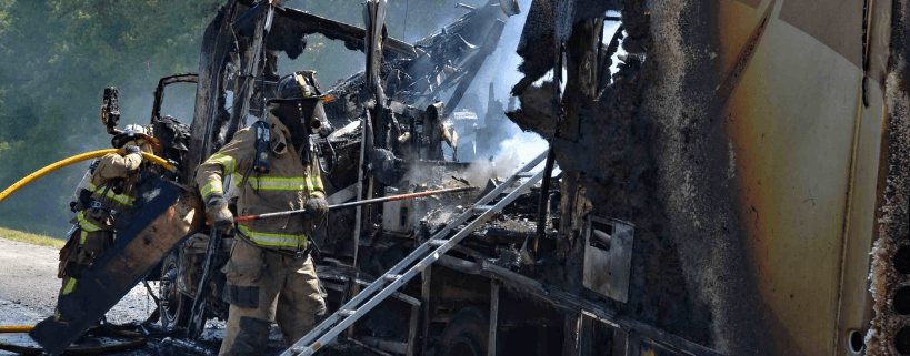 Dogs and cat died in motorhome fire