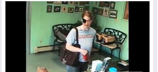 Woman abandoned sick dog at groomer