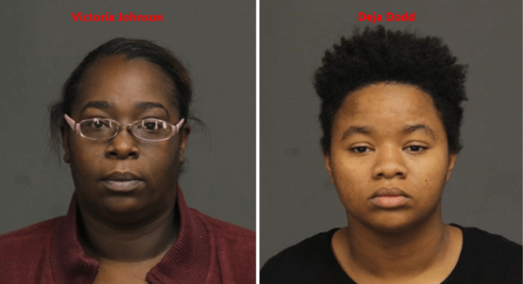 Women charged